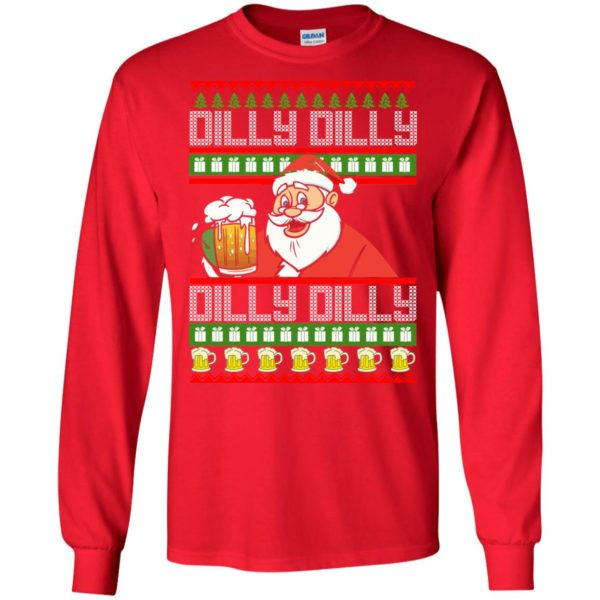 image 4183 600x600 - Dilly Dilly Christmas Sweater, Shirt, Hoodie