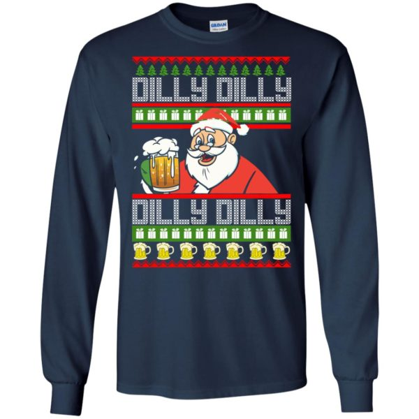 image 4184 600x600 - Dilly Dilly Christmas Sweater, Shirt, Hoodie