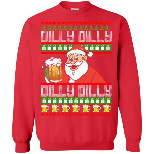 image 4190 600x600 - Dilly Dilly Christmas Sweater, Shirt, Hoodie
