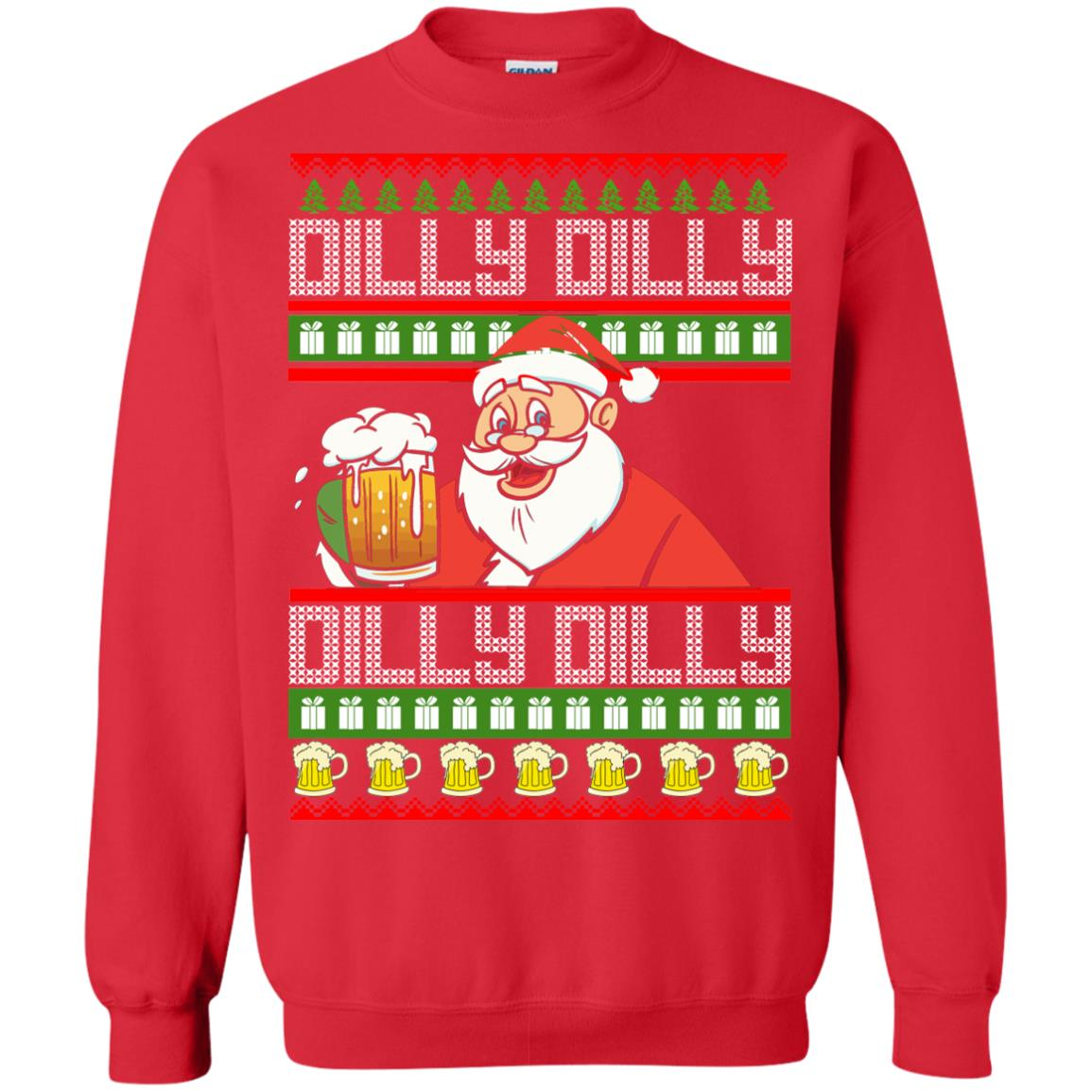 image 4190 - Dilly Dilly Christmas Sweater, Shirt, Hoodie
