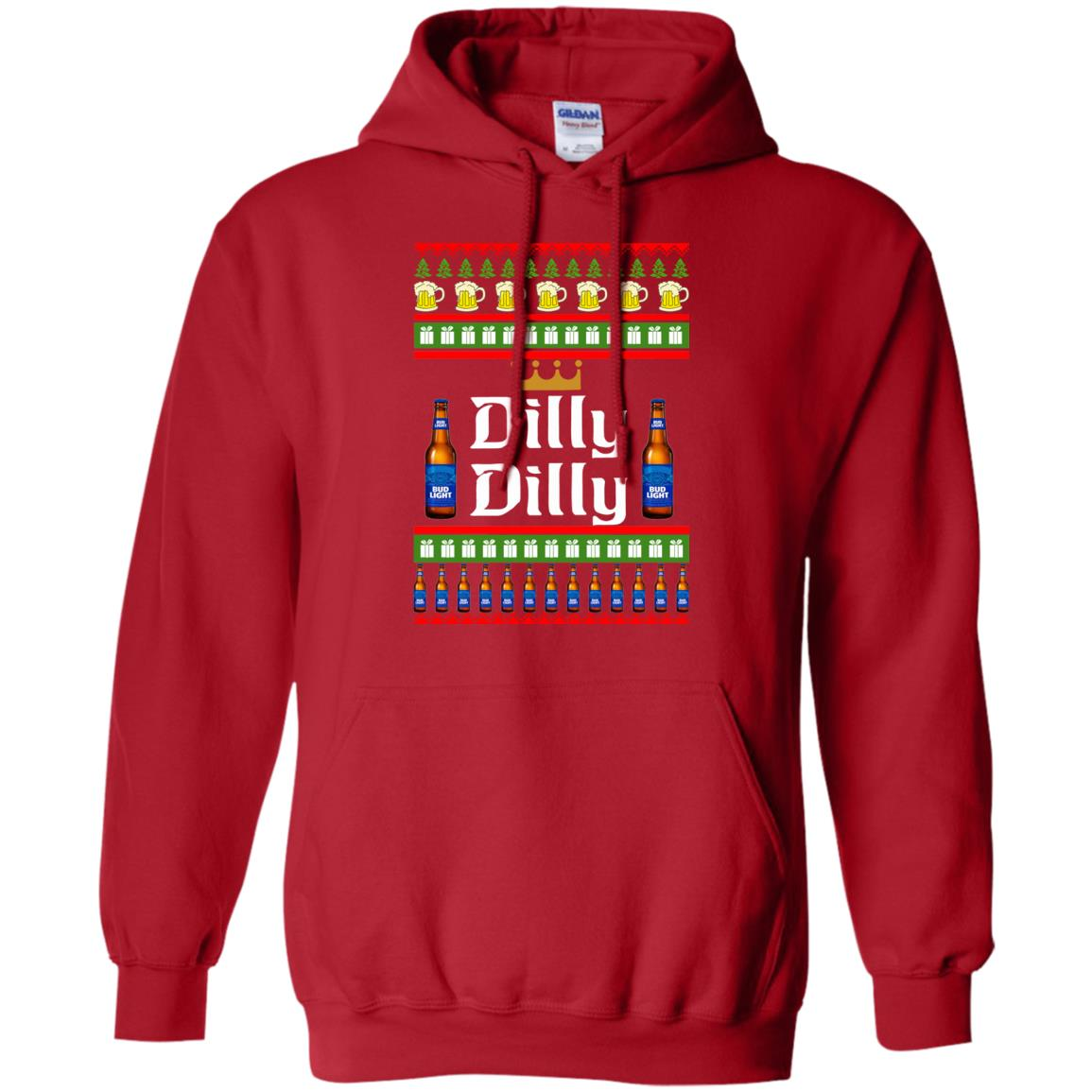 image 4235 - Bud Light: Dilly Dilly Ugly Sweater, Christmas Sweatshirts