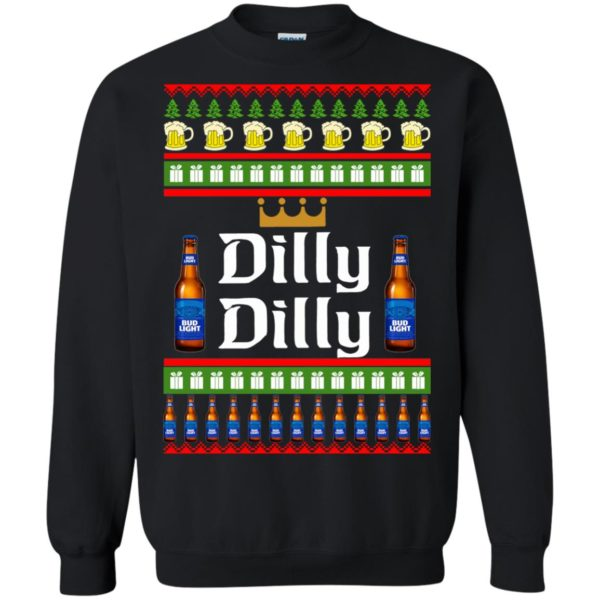image 4236 600x600 - Bud Light: Dilly Dilly Ugly Sweater, Christmas Sweatshirts