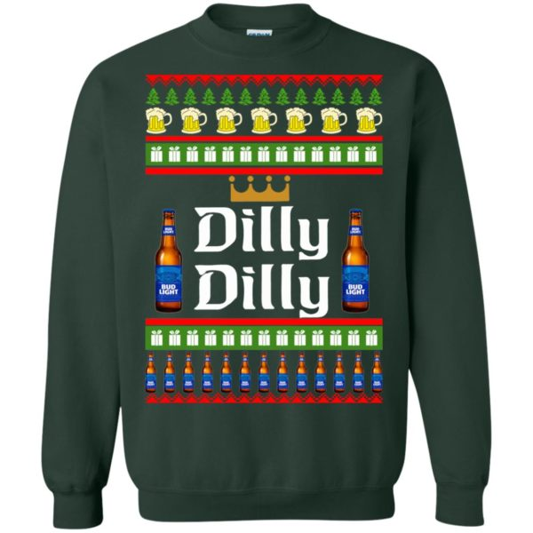 image 4239 600x600 - Bud Light: Dilly Dilly Ugly Sweater, Christmas Sweatshirts