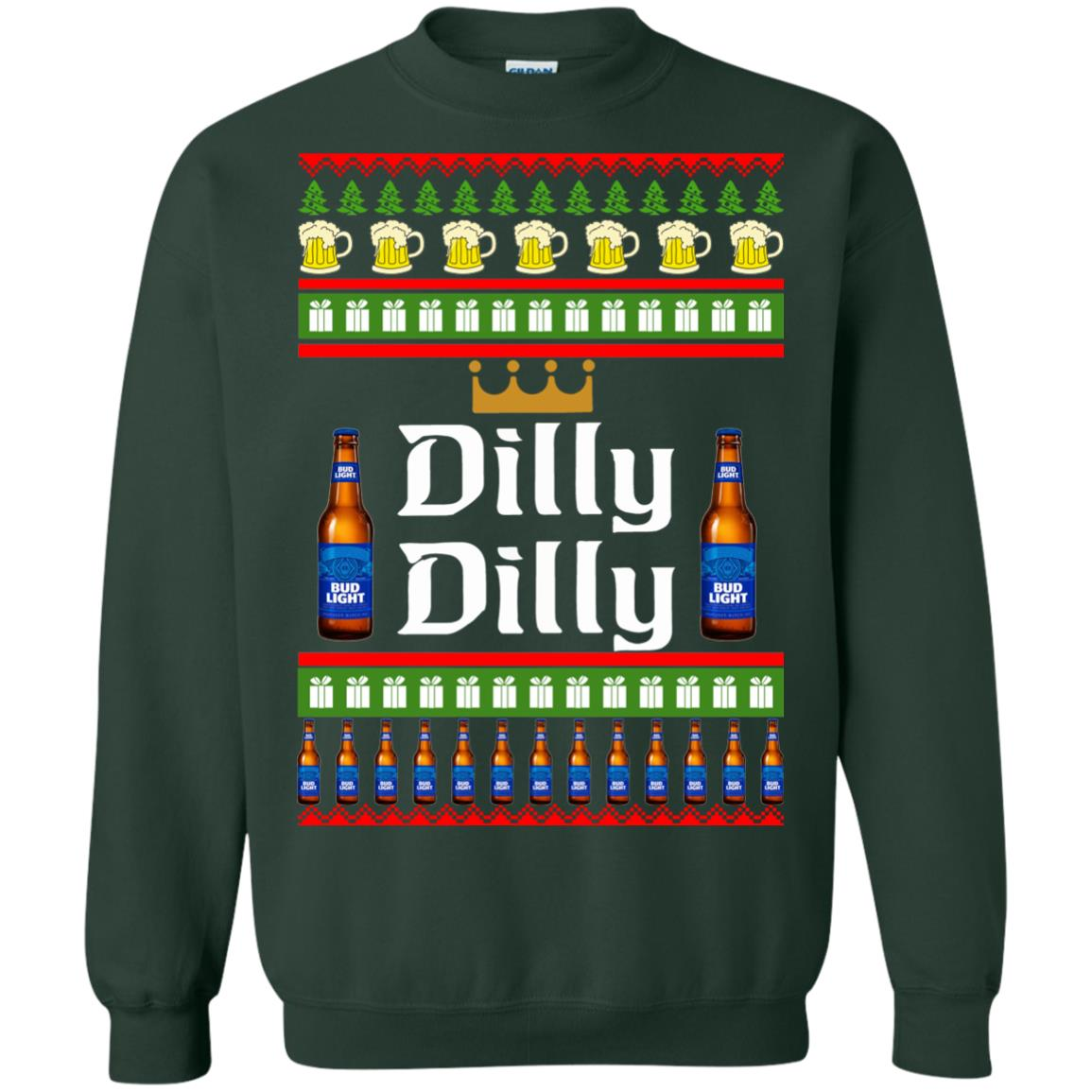 image 4239 - Bud Light: Dilly Dilly Ugly Sweater, Christmas Sweatshirts