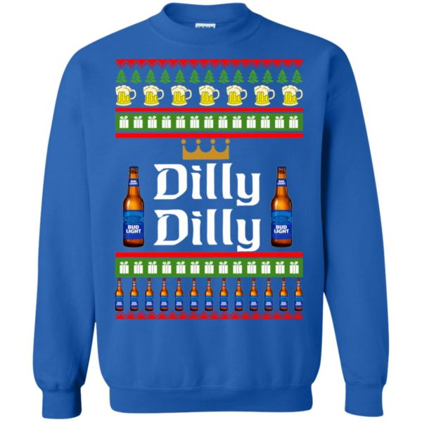 image 4240 600x600 - Bud Light: Dilly Dilly Ugly Sweater, Christmas Sweatshirts