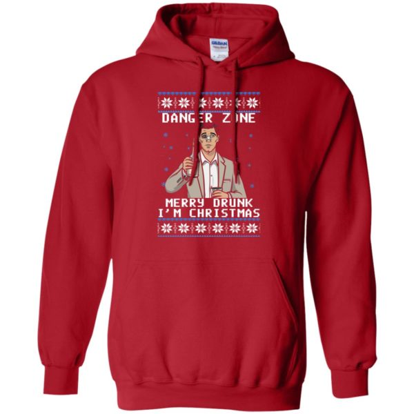 image 4628 600x600 - Archer: Danger Zone Merry Drunk I'm Christmas Ugly Sweater, Shirt
