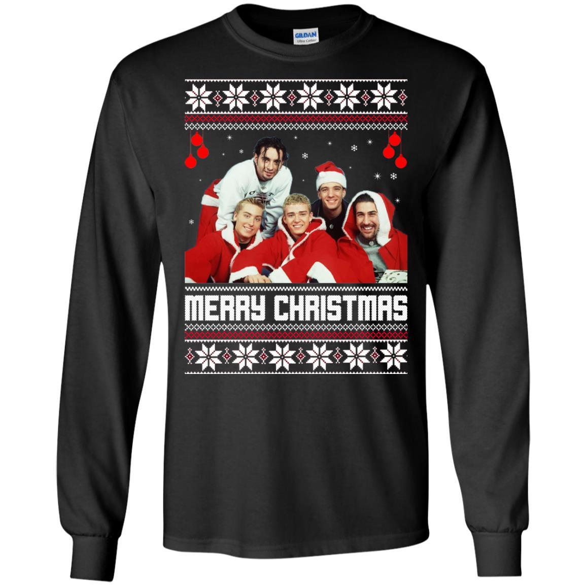 Nsync Christmas Sweater Ugly Sweatshirts Rockatee