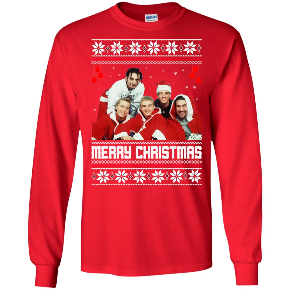 Nsync Christmas Sweater, Ugly Sweatshirts - Rockatee