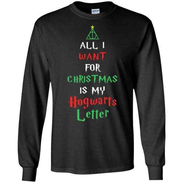 image 518 600x600 - All I Want For Christmas Is My Hogwarts Letter Sweater, Christmas Sweatshirts