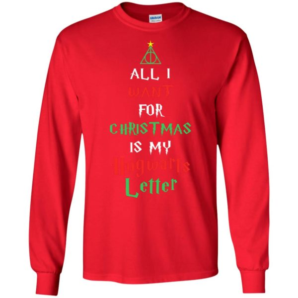 image 519 600x600 - All I Want For Christmas Is My Hogwarts Letter Sweater, Christmas Sweatshirts