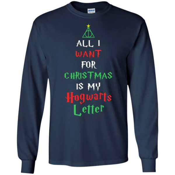 image 520 600x600 - All I Want For Christmas Is My Hogwarts Letter Sweater, Christmas Sweatshirts