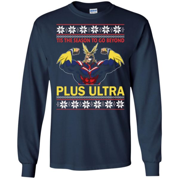 image 5263 600x600 - Tis The Season To Go Beyond Plus Ultra Christmas Sweater, Shirt