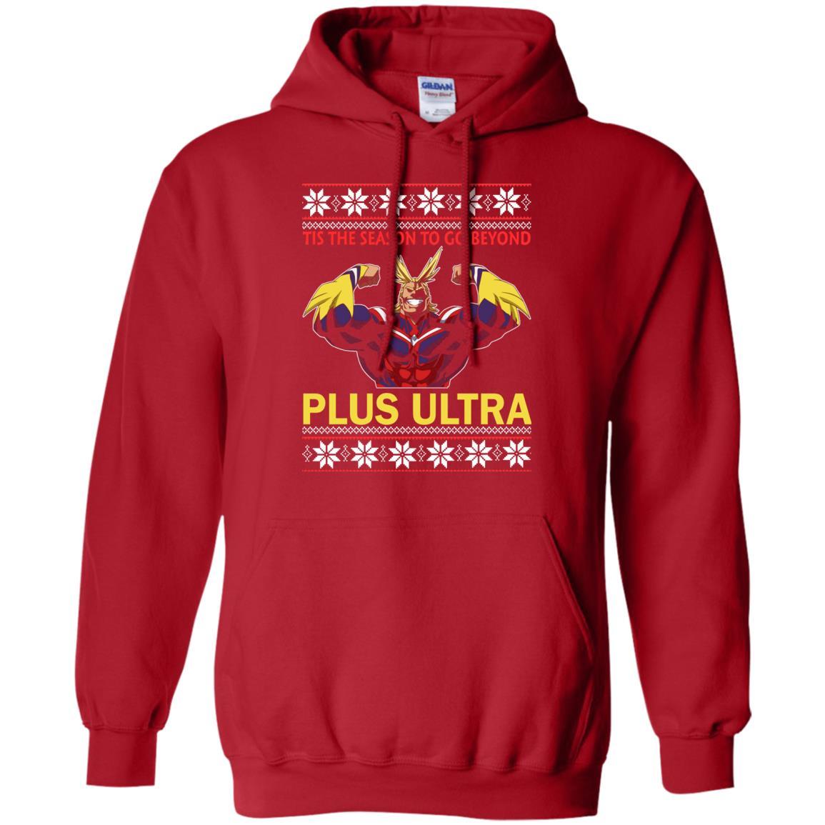 image 5267 - Tis The Season To Go Beyond Plus Ultra Christmas Sweater, Shirt