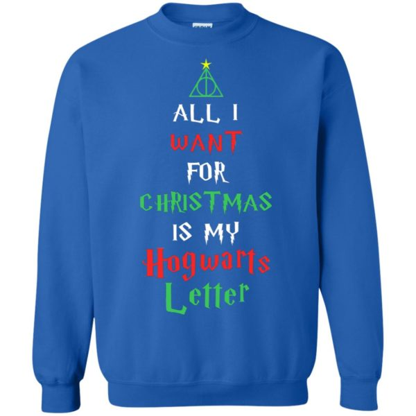 image 528 600x600 - All I Want For Christmas Is My Hogwarts Letter Sweater, Christmas Sweatshirts