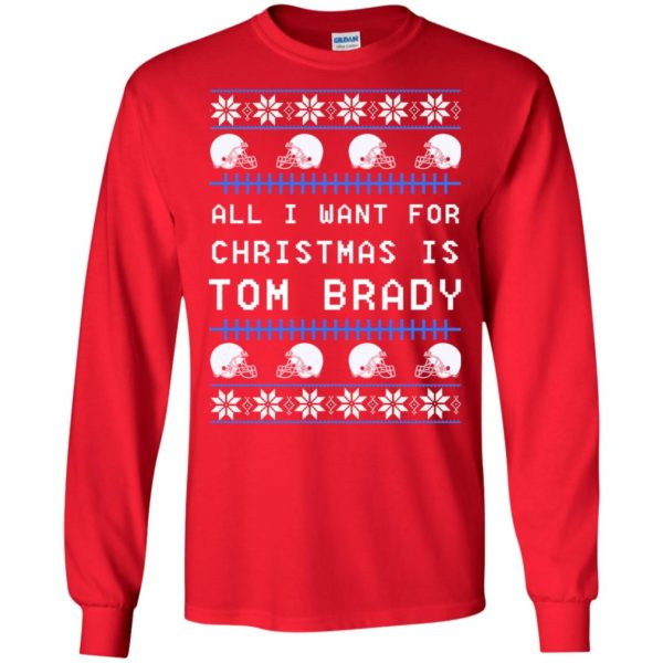 image 5300 600x600 - All I Want For Christmas is Tom Brady Ugly Sweater, Shirt, Hoodie