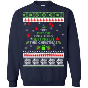image 5415 300x300 - The Tree Isn't The Only Thing Getting Lit This Christmas Sweater, Long Sleeve