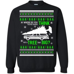 image 5689 300x300 - Where Do You Think You're Gonna Put a Tree That Big Ugly Sweater, Hoodie