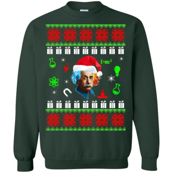 image 5800 600x600 - Albert Einstein Ugly Christmas Sweater, Hoodie
