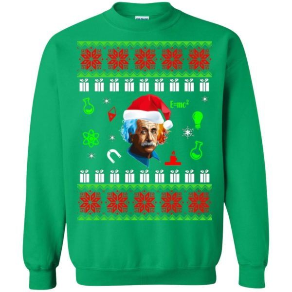 image 5802 600x600 - Albert Einstein Ugly Christmas Sweater, Hoodie