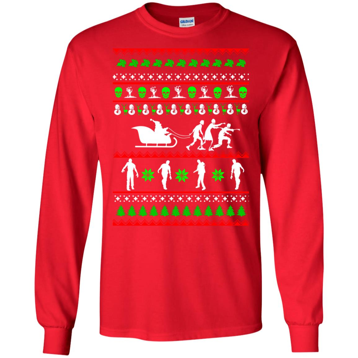 image 5831 - Zombie Christmas Sweater, Hoodie