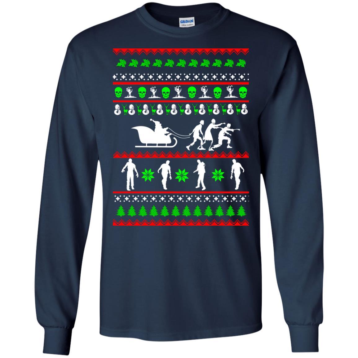 image 5832 - Zombie Christmas Sweater, Hoodie