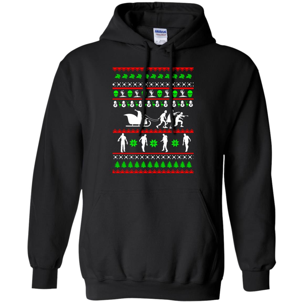 image 5833 - Zombie Christmas Sweater, Hoodie
