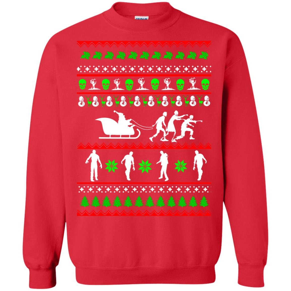 image 5837 - Zombie Christmas Sweater, Hoodie