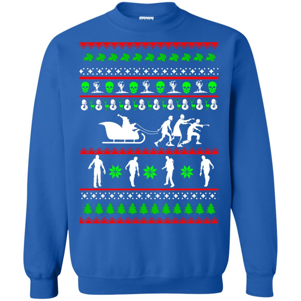 image 5839 - Zombie Christmas Sweater, Hoodie