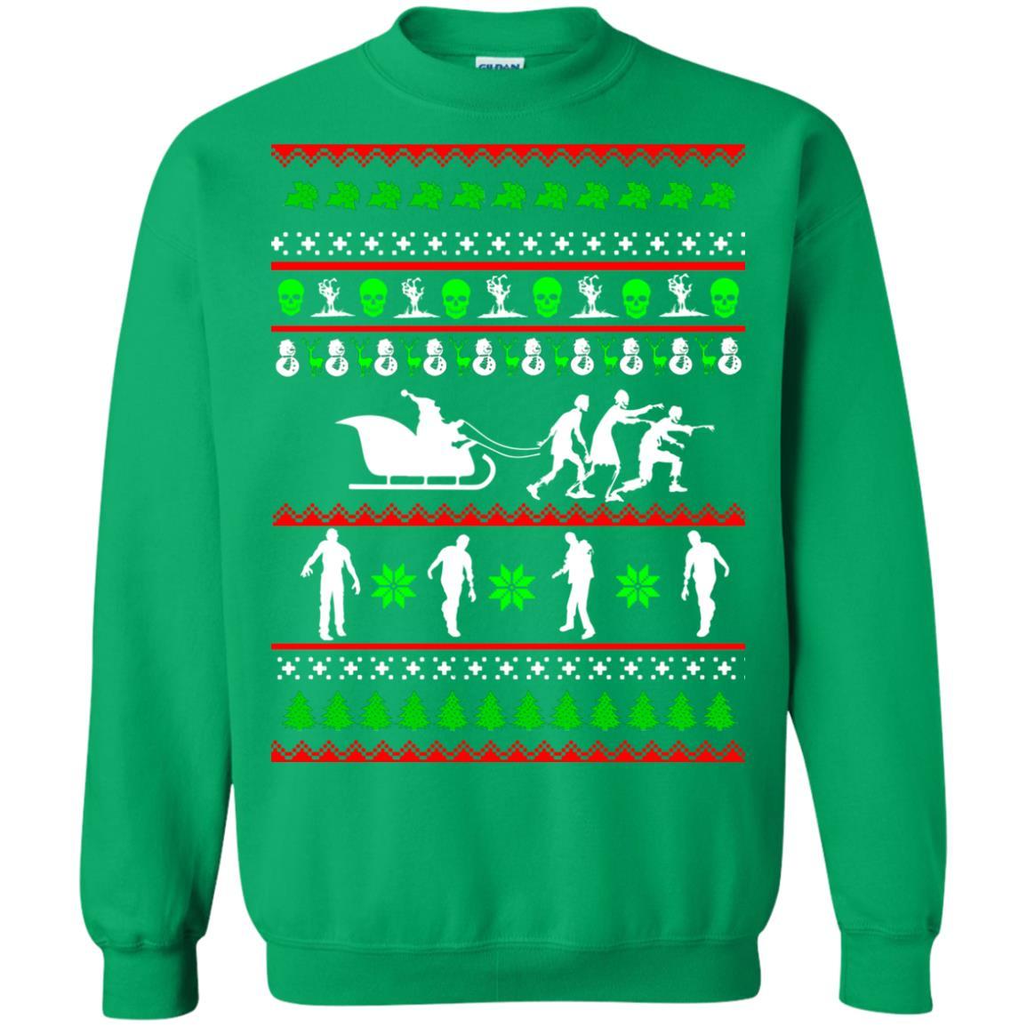 image 5840 - Zombie Christmas Sweater, Hoodie