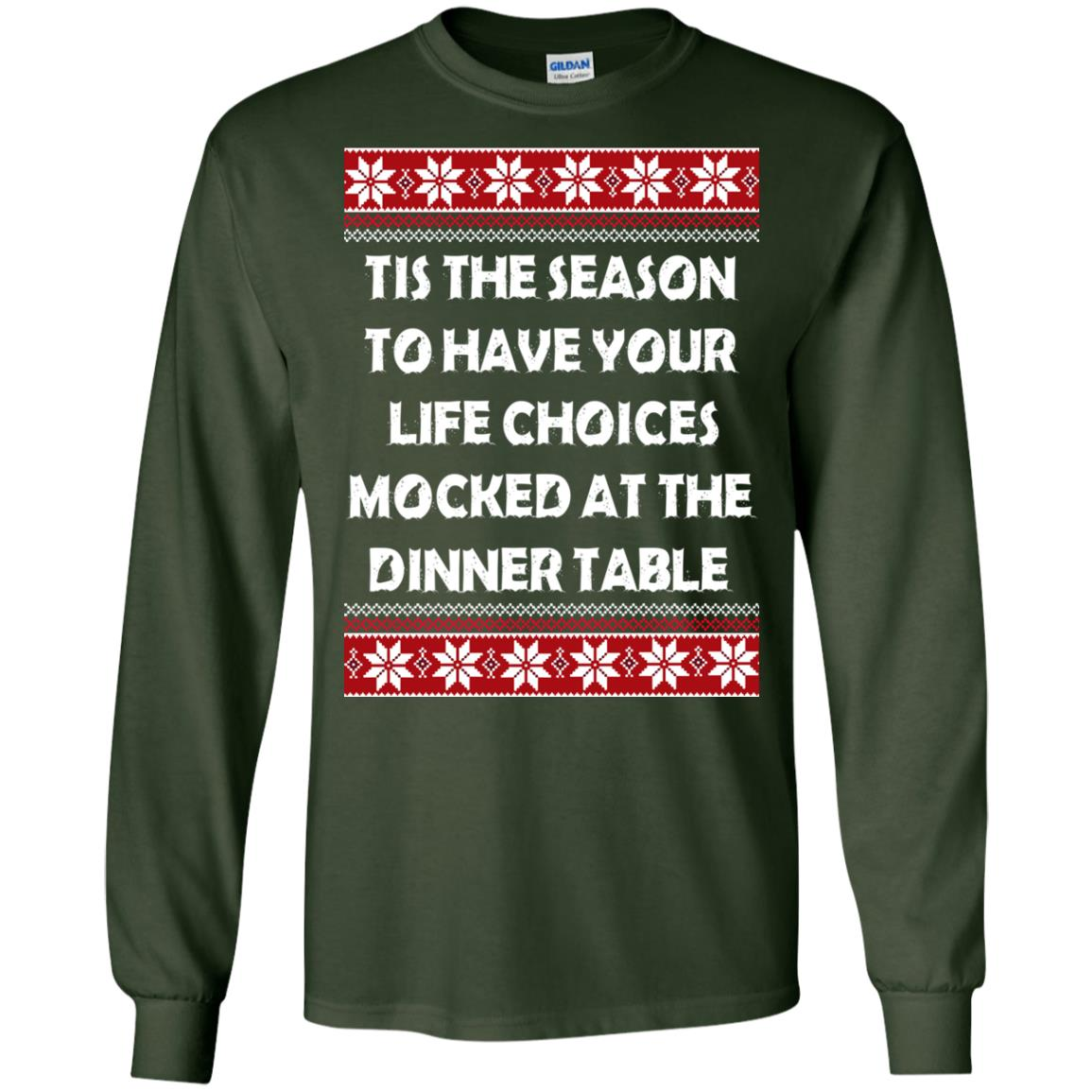image 5891 - Tis The Season To Have Your Life Choices Mocked Christmas Sweater, Hoodie