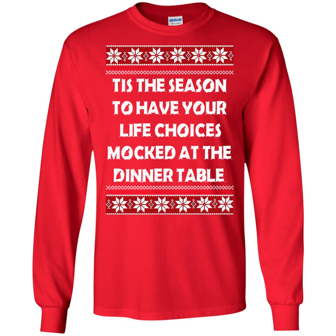 image 5892 - Tis The Season To Have Your Life Choices Mocked Christmas Sweater, Hoodie