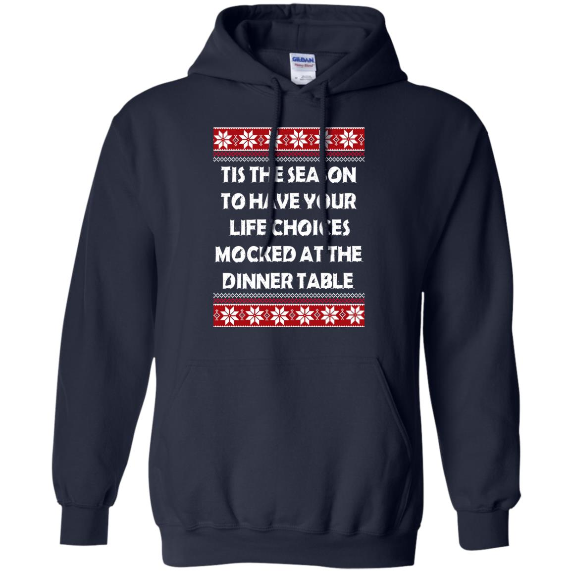 image 5895 - Tis The Season To Have Your Life Choices Mocked Christmas Sweater, Hoodie