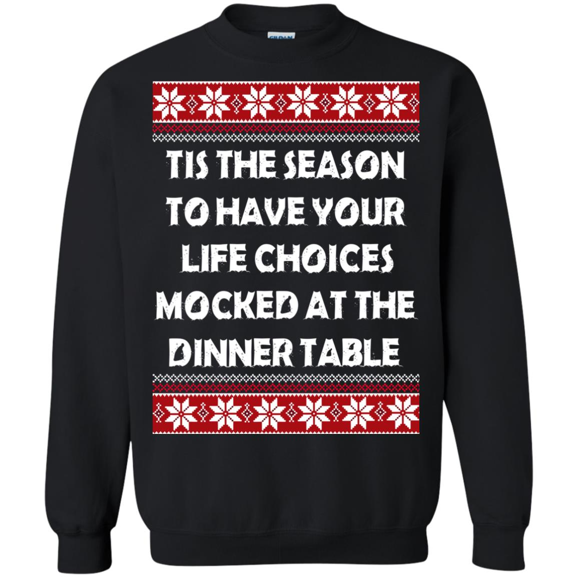 image 5896 - Tis The Season To Have Your Life Choices Mocked Christmas Sweater, Hoodie