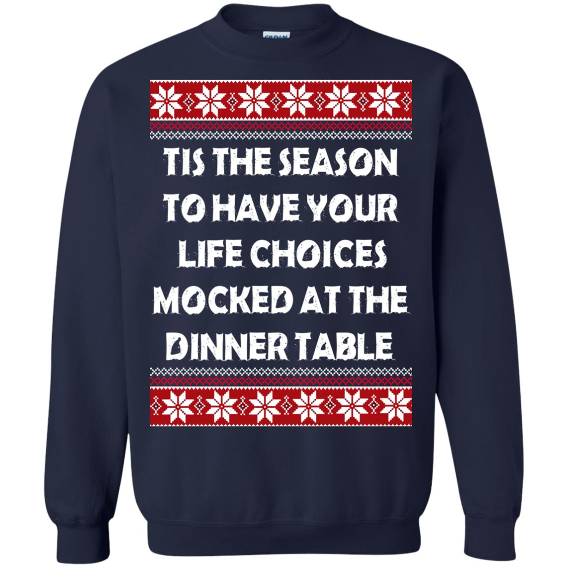 image 5897 - Tis The Season To Have Your Life Choices Mocked Christmas Sweater, Hoodie