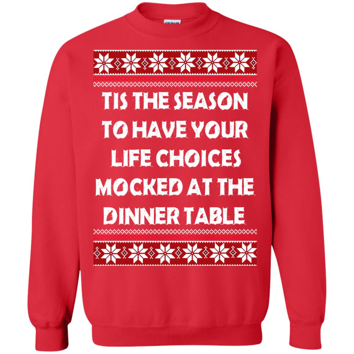image 5898 - Tis The Season To Have Your Life Choices Mocked Christmas Sweater, Hoodie