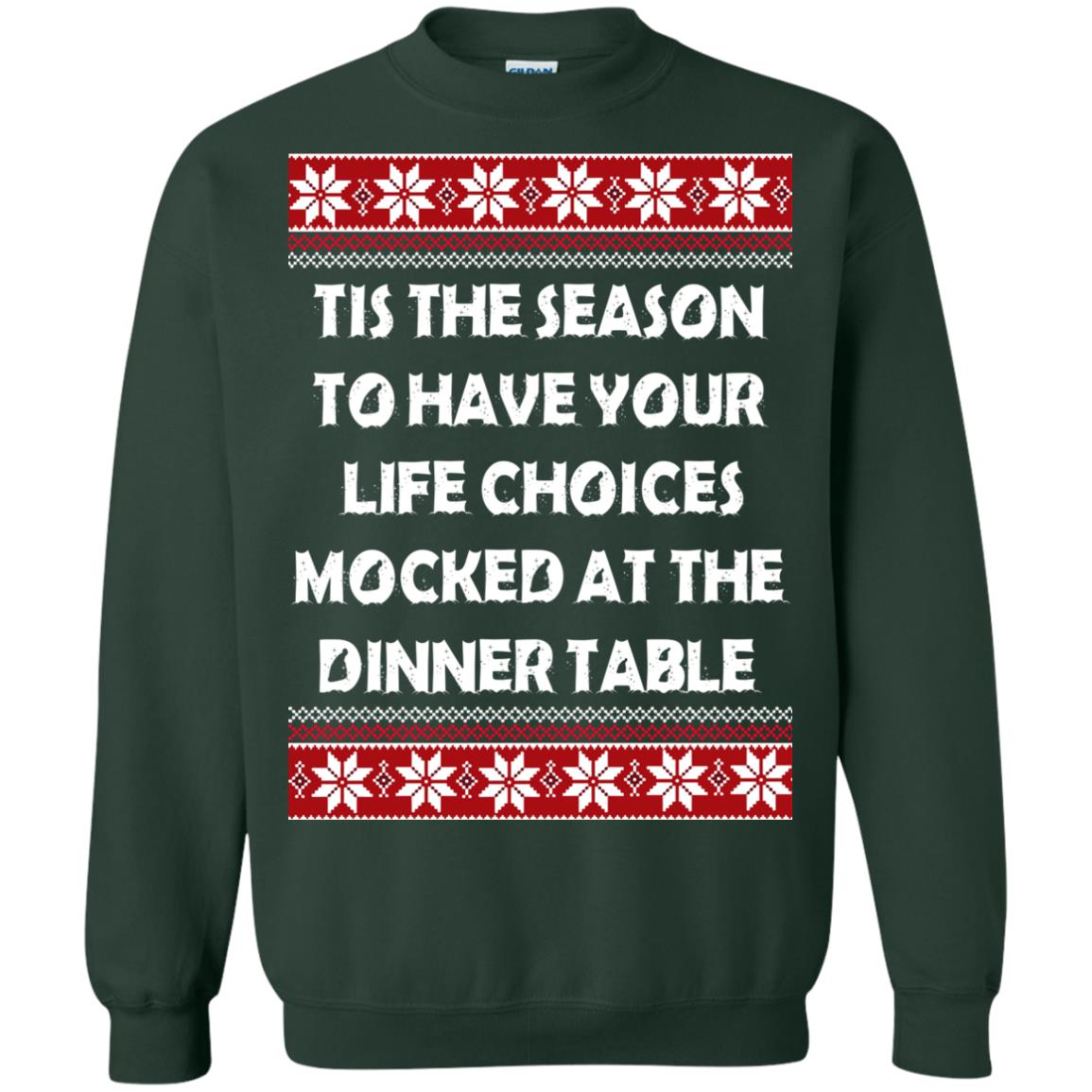 image 5899 - Tis The Season To Have Your Life Choices Mocked Christmas Sweater, Hoodie