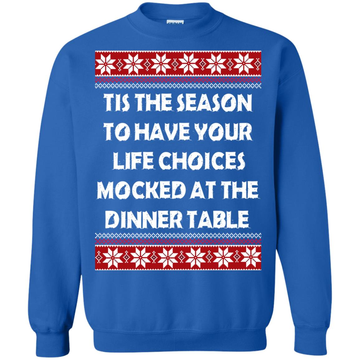 image 5900 - Tis The Season To Have Your Life Choices Mocked Christmas Sweater, Hoodie