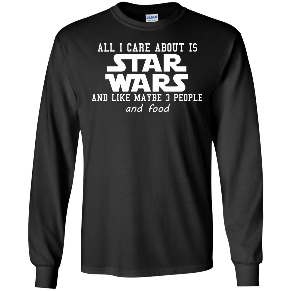 image 603 - All I care about is Star Wars & like maybe 3 people & food