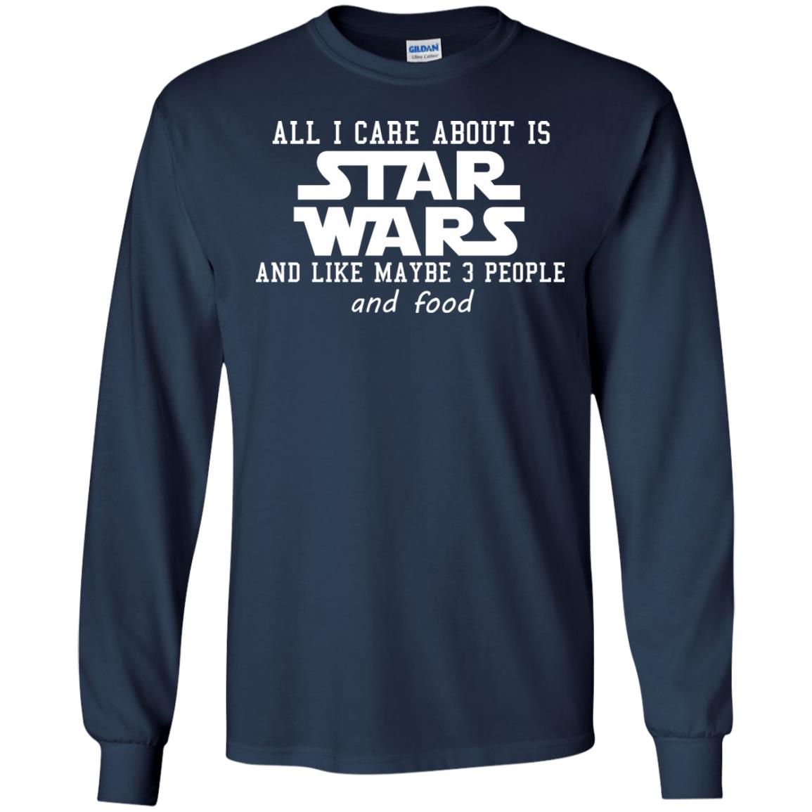 image 604 - All I care about is Star Wars & like maybe 3 people & food