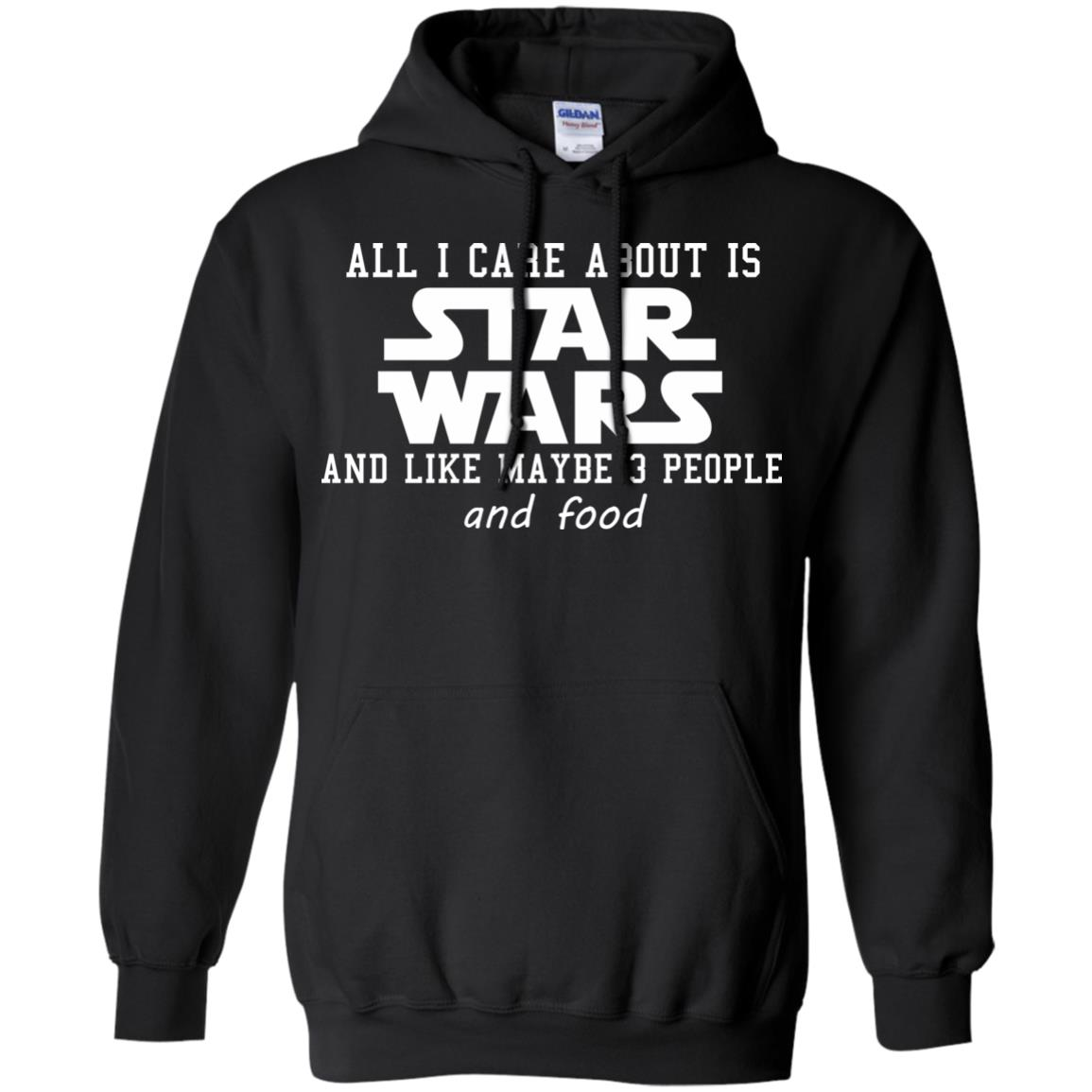 image 605 - All I care about is Star Wars & like maybe 3 people & food
