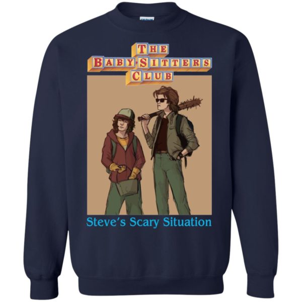 image 6065 600x600 - Steve and Dustin Shirt: Steve's Scary Situation