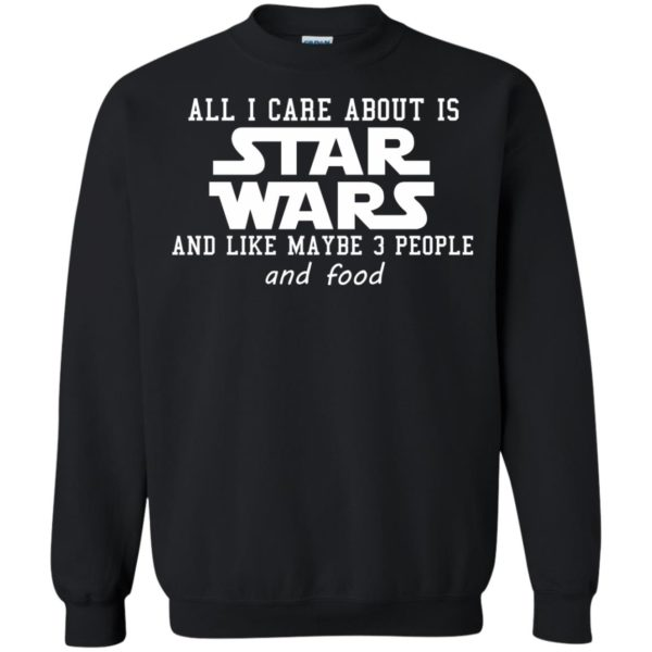 image 607 600x600 - All I care about is Star Wars & like maybe 3 people & food