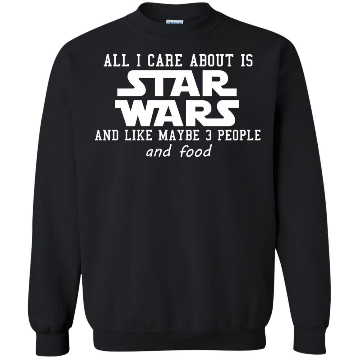 image 607 - All I care about is Star Wars & like maybe 3 people & food