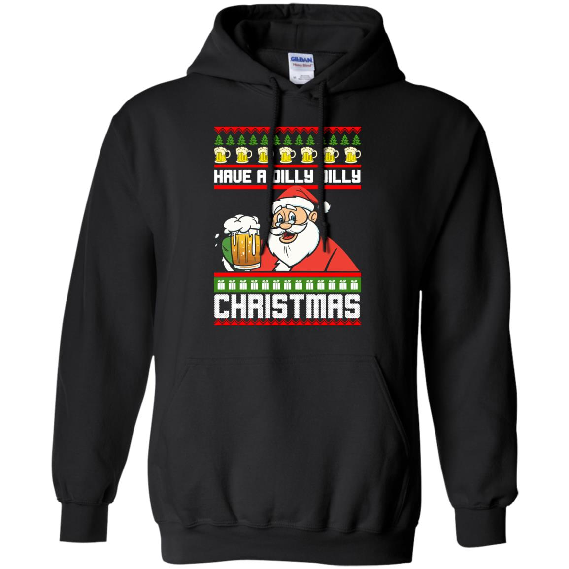 image 6130 - Have a Dilly Dilly Christmas Ugly Sweatshirt, Long Sleeve