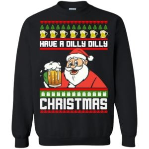 image 6132 300x300 - Have a Dilly Dilly Christmas Ugly Sweatshirt, Long Sleeve