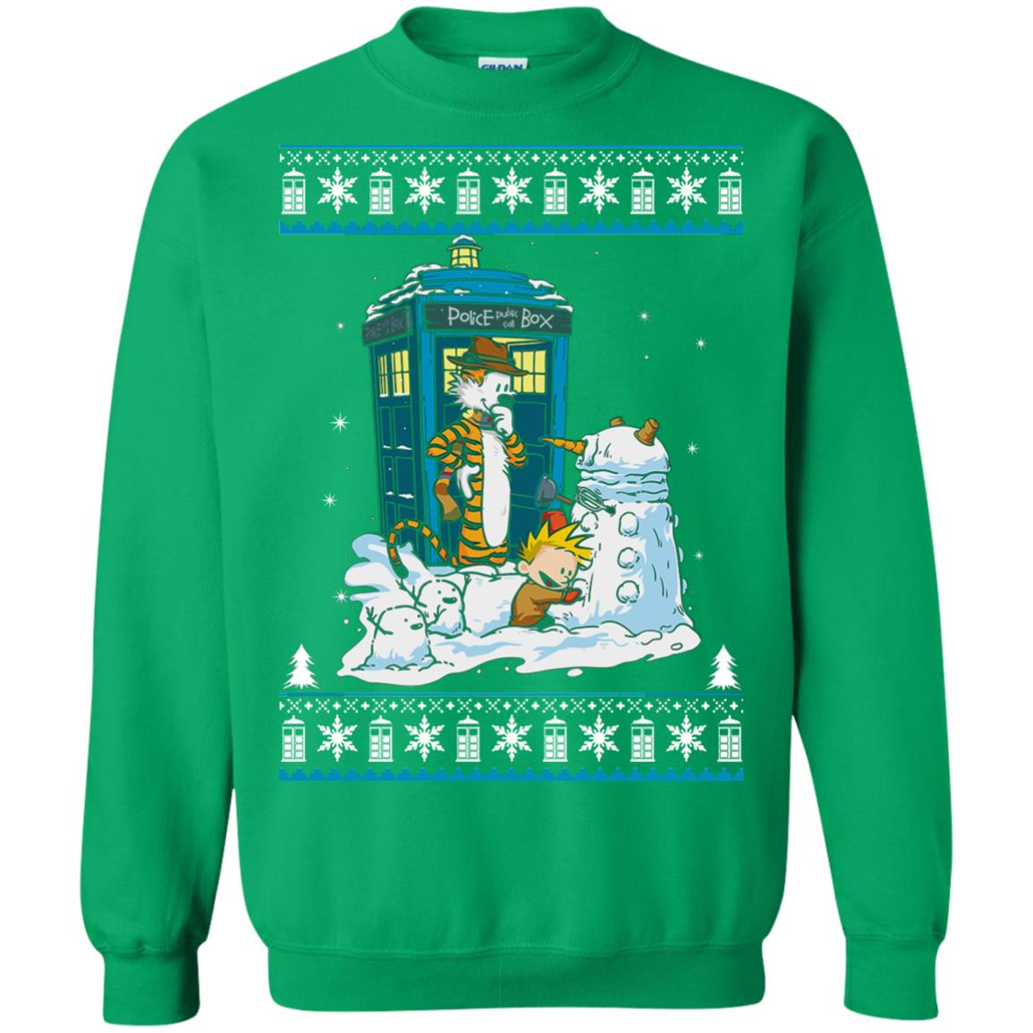 Dr Who Christmas Sweater.Doctor Who Calvin Dalek Christmas Sweater Hoodie