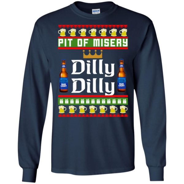 image 6381 600x600 - Pit Of Misery Dilly Dilly Ugly Sweater, Long Sleeve