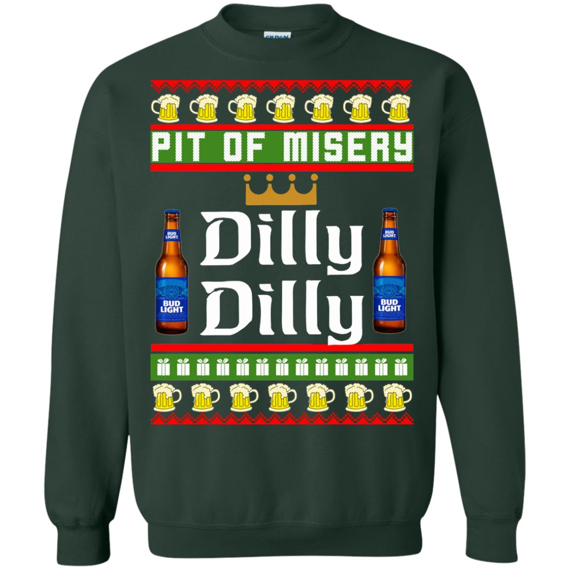 image 6387 - Pit Of Misery Dilly Dilly Ugly Sweater, Long Sleeve