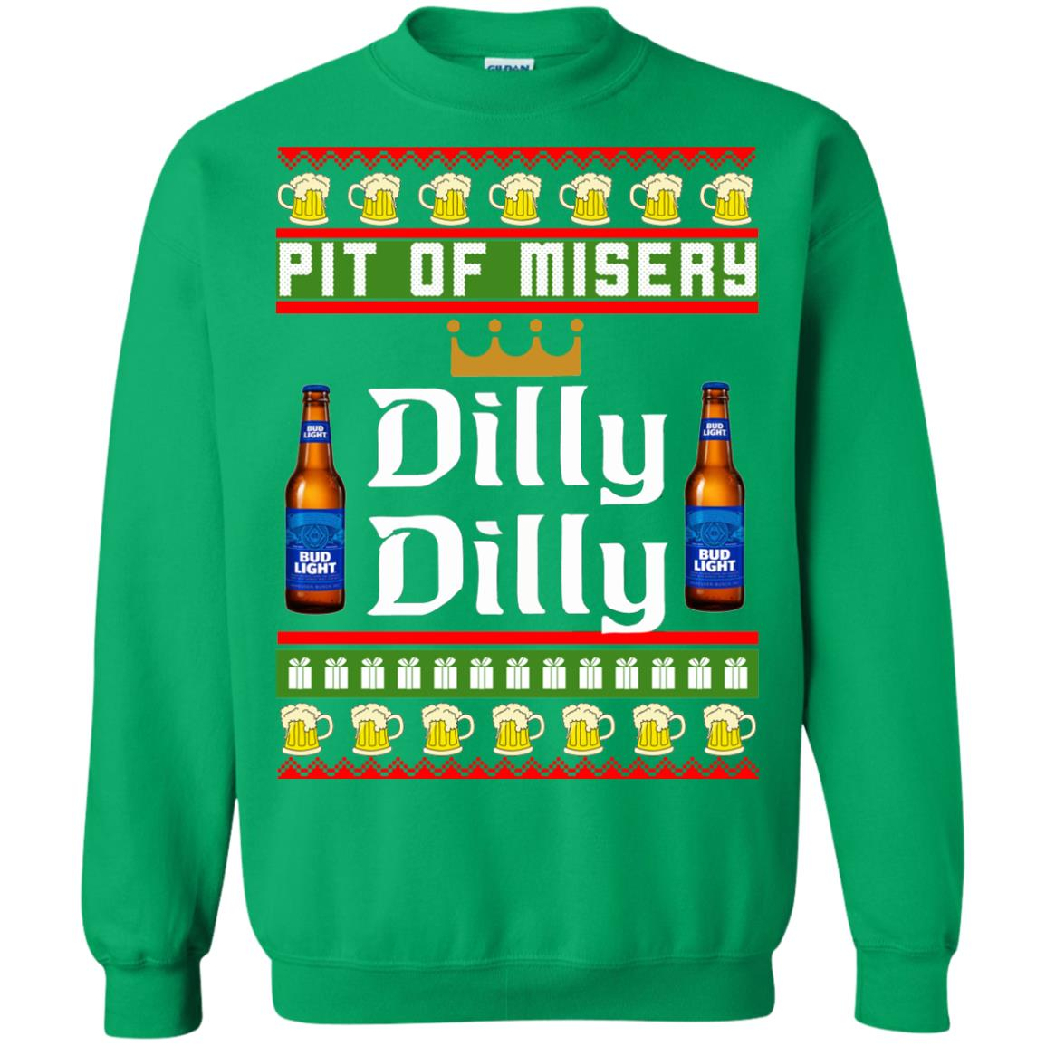image 6389 - Pit Of Misery Dilly Dilly Ugly Sweater, Long Sleeve
