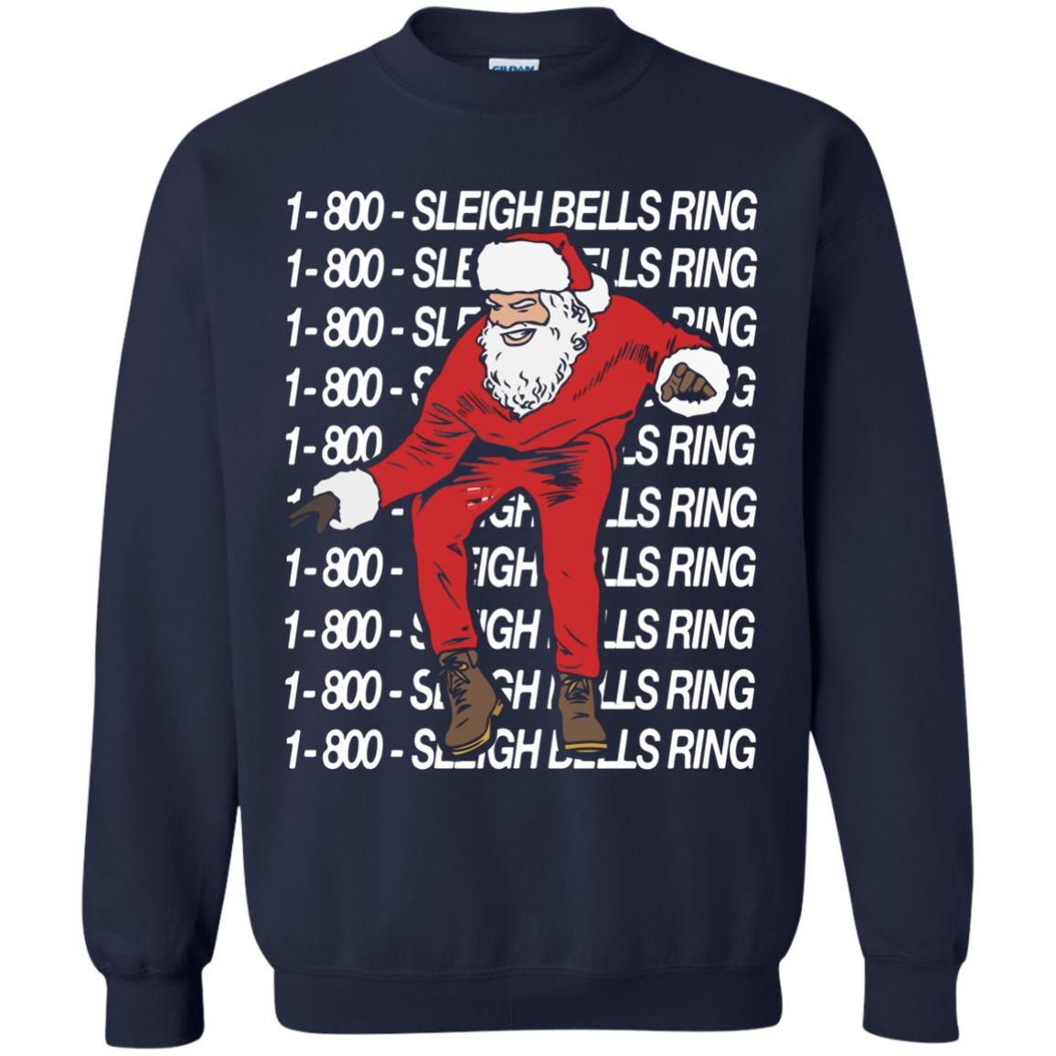 image 6589 - Sleigh Bells Ring 1-800 Christmas Sweater, Long Sleeve